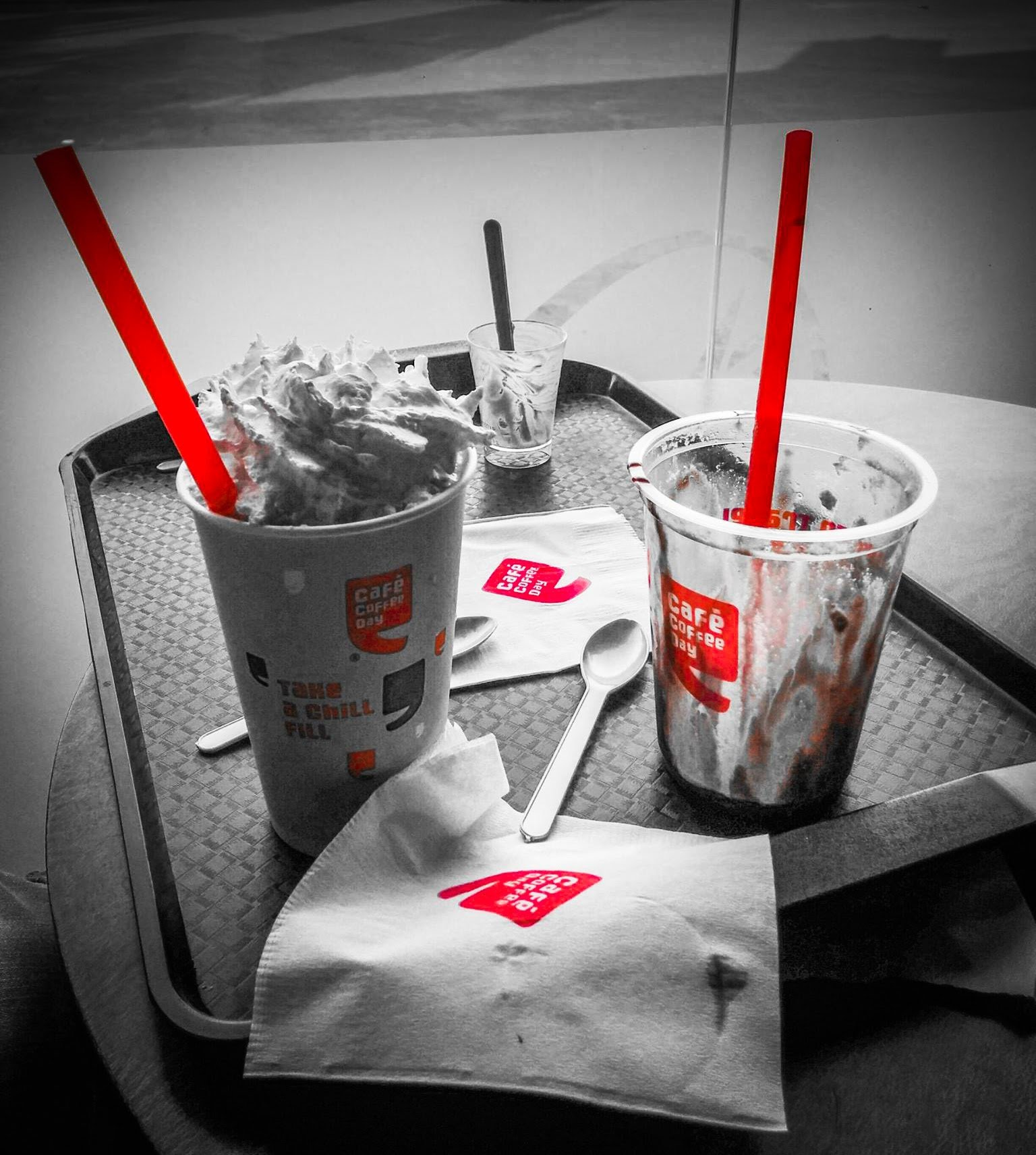 Cafe Coffee day days by Travel Anubhav