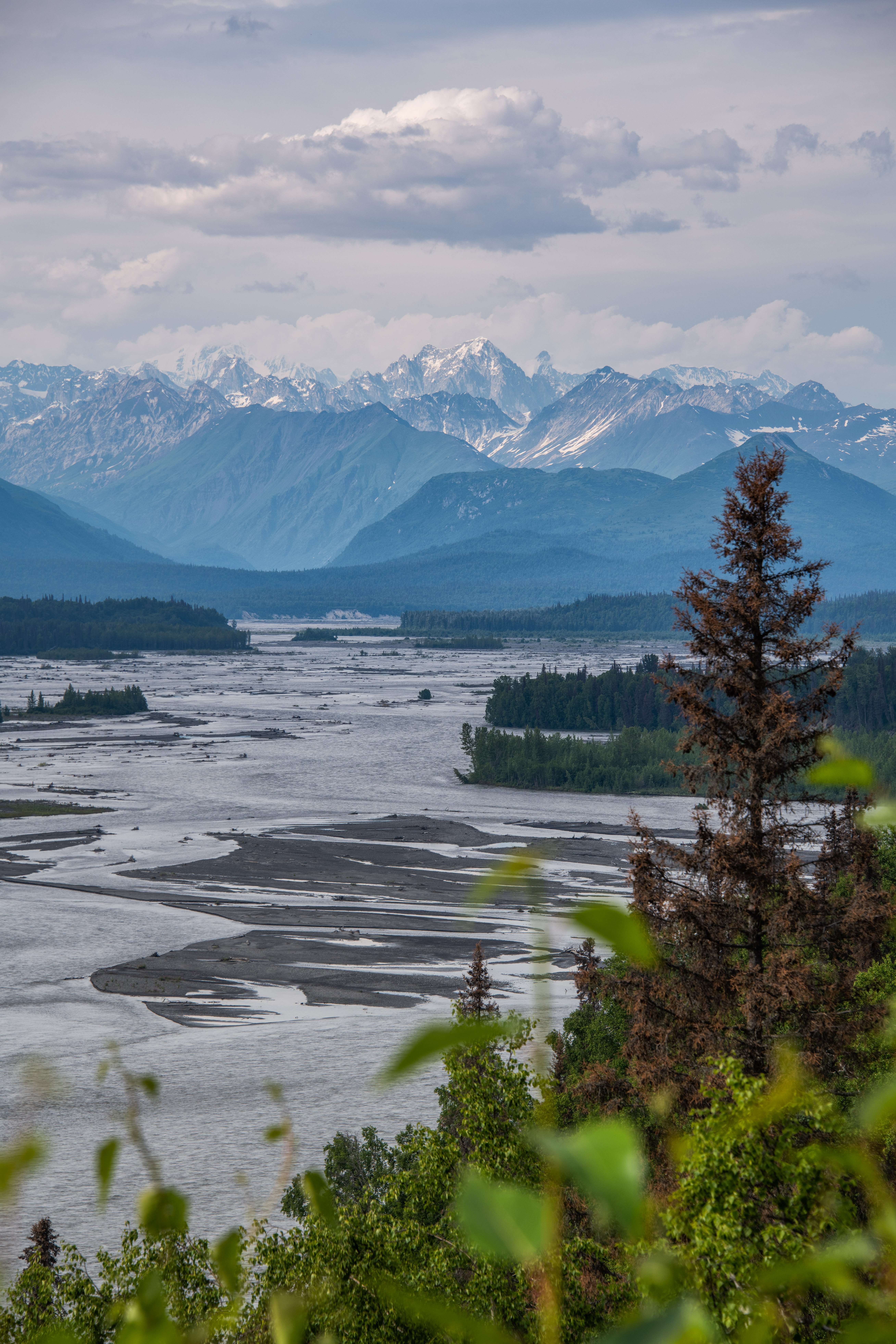 Viewpoint on the way to Denali National PArk by Travel Anubhav.