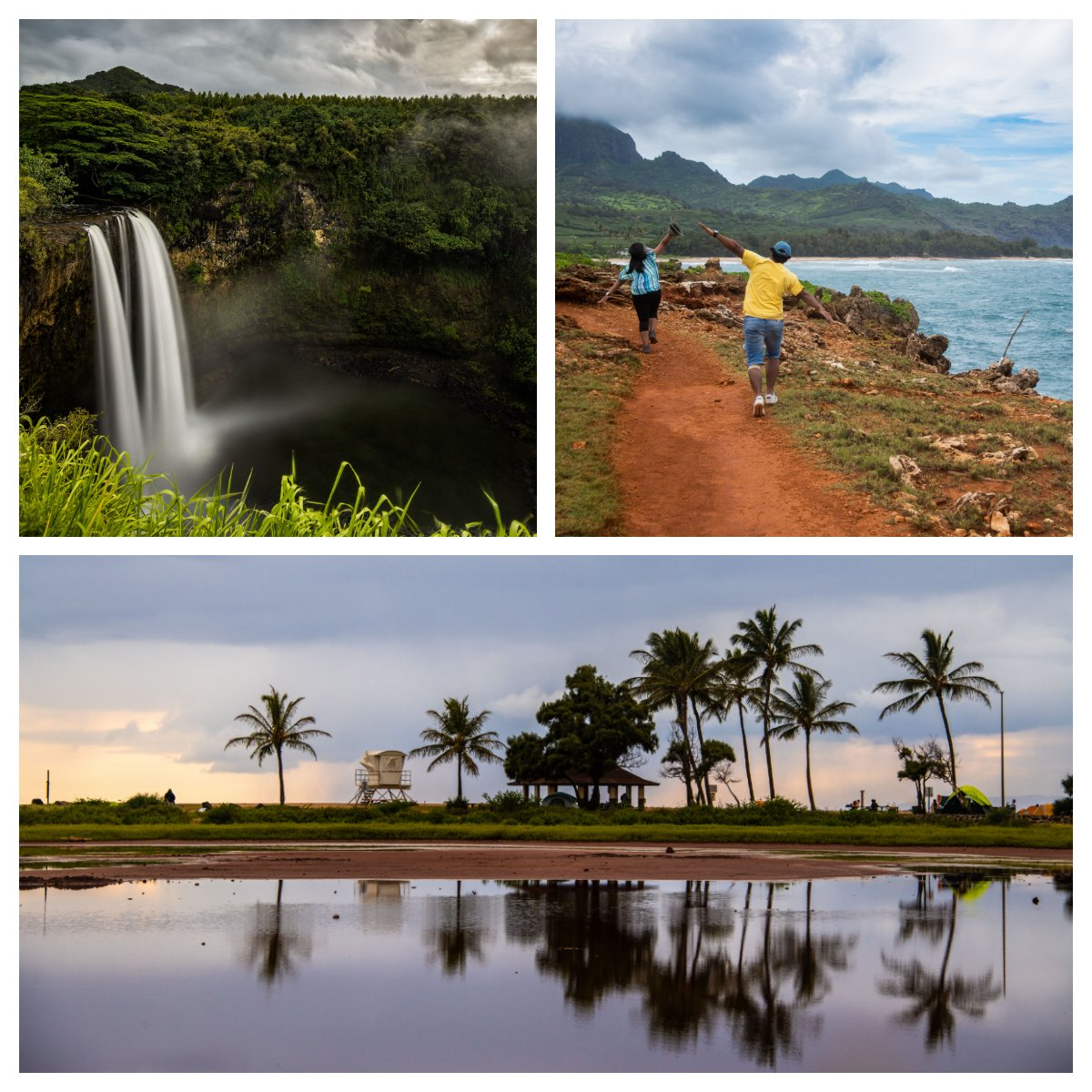 Salt pond beach, wailua falls and other list of things to do in Kauai by Travel Anubhav